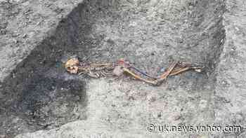 HS2 unearths skeleton of Iron Age murder victim