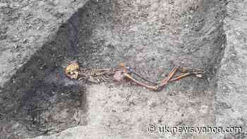 HS2 works uncover skeleton of man 'murdered or executed during Iron Age'