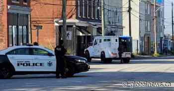 Saint John police conclude operation on Prince Edward Street