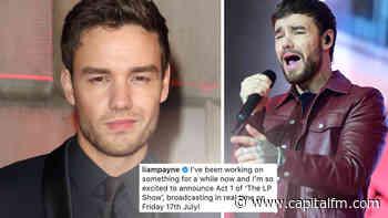 One Direction's Liam Payne Announces 'The LP Show' Livestream Concert Series - Capital