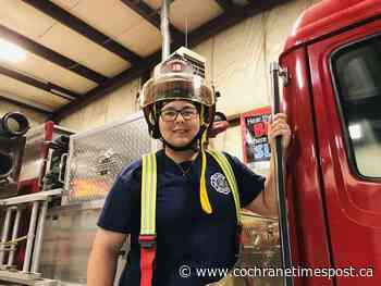 Woman firefighter, enjoys demands of the job - Cochrane Times Post