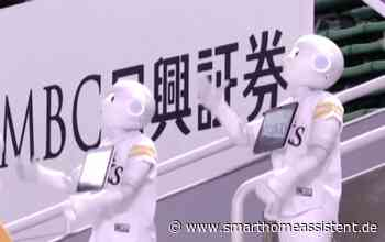 Cheerleader Roboter bei Baseball-Spiel in Japan - SmarthomeAssistent
