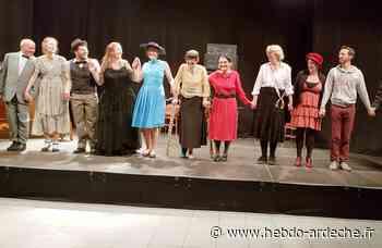 Joyeuse - Tous en scène avec la Cie de l'Yerres - Hebdo de l'Ardèche