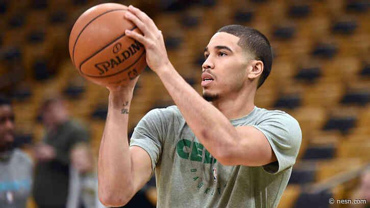 Watch Highlights From Celtics First Practice In Walt Disney World Ballroom