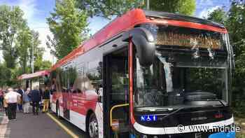 Elektrobusse jetzt auch in Eisenach im Linienverkehr - MDR