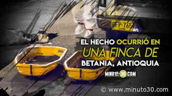 En Betania, Antioquia, se registró doble homcidio - Minuto30.com