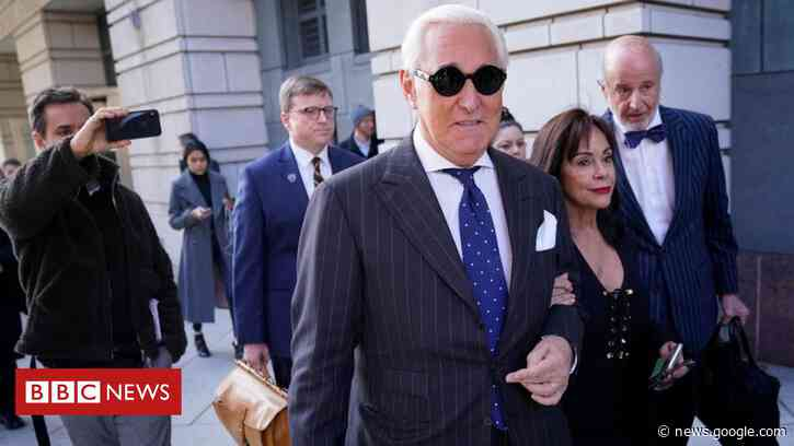 Roger Stone: Trump commutes ex-adviser's sentence - BBC News