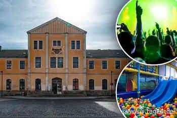 Disco, Indoorspielplatz, Gastronomie: Das sind die Ideen für den Freiberger Bahnhof - TAG24
