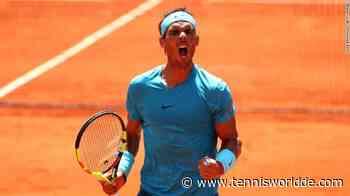 Rafael Nadal: Ich kann nicht verrückt werden, wenn ich an den 20. Slam denke - Tennis World DE