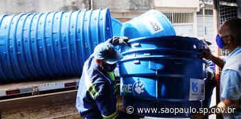 Sabesp: Mais 49 caixas-d'água são entregues à população de Diadema - Portal do Governo do Estado de São Paulo