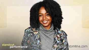 Jerrika Hinton on 'Hunters' and Opening the Door for Real Change in Hollywood (Exclusive) - Entertainment Tonight