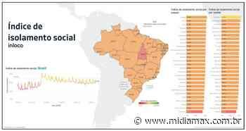 Campo Grande segue com o 2º pior isolamento social entre as capitais; nos Estados, MS é o 7º - Jornal Midiamax