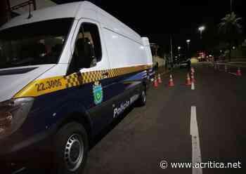 Diversas ações durante toque de recolher em Campo Grande buscam motoristas irresponsáveis - Portal do Jornal A Crítica de Campo Grande/MS