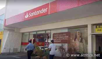 Sindicato dos Bancários interdita duas agências do Santander em Campo Grande que abriram sem vigilantes - Portal do Jornal A Crítica de Campo Grande/MS