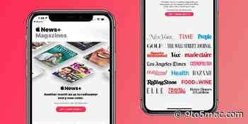 Apple News+ sees another free month promotion as audio stories are set to launch - 9to5Mac