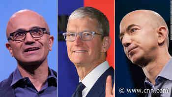 Amazon, Apple and Microsoft race to $2 trillion - CNN