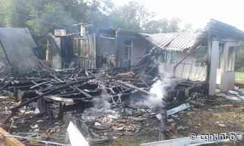 Incêndio destrói casa na zona rural de Santa Izabel do Oeste - CGN