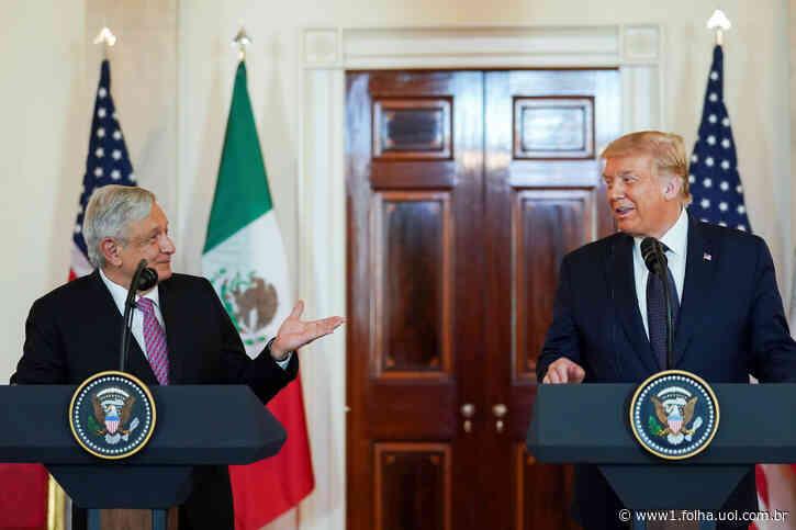 Na Casa Branca, AMLO elogia Trump por não tratar México 'como colônia' - Folha de S.Paulo