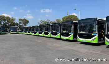 Malta's public transport fleet gets 50 new busses - MaltaToday