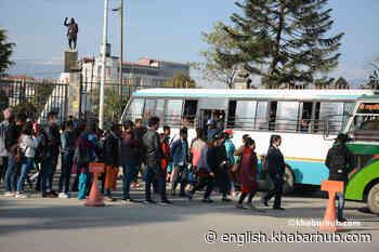 Nepal allows operation of public transport with 50 pc capacity - Khabarhub