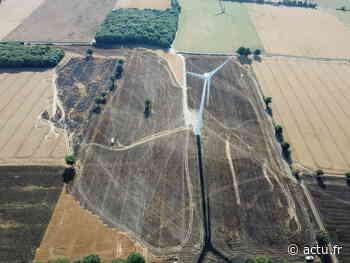 Pays de Châteaubriant : 11 hectares de champs prennent feu à Nozay et Guémené-Penfao - L'Eclaireur de Châteaubriant