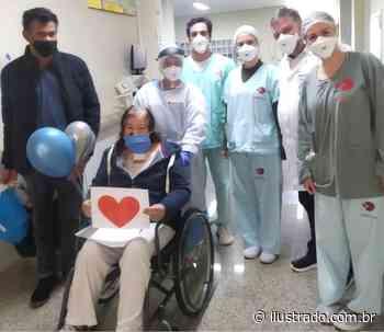 Paciente de 56 anos do Uopeccan de Umuarama comemora cura da Covid-19 - Umuarama Ilustrado