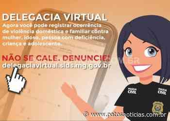 Delegacia Virtual tem opção de registro de violência doméstica e familiar - Patos Notícias