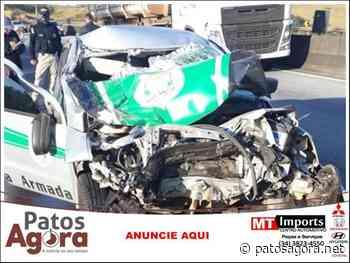 Motorista de escolta armada de Patos de Minas morre em acidente na rodovia Fernão Dias - Patos Agora
