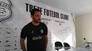 """Frontini exalta força do Nacional de Patos e diz que Treze não pode """"rivalizar"""" com Celso Teixeira - globoesporte.com"""