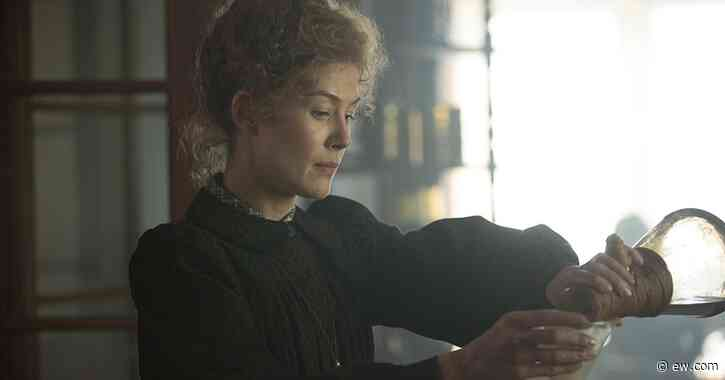 Rosamund Pike is 'Radioactive' as Marie Curie in new biopic trailer - Entertainment Weekly