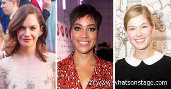 Ruth Wilson, Cush Jumbo and Rosamund Pike in talks to star in Take That musical movie | WhatsOnStage - WhatsOnStage.com