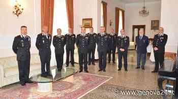 Il nuovo comandante interregionale 'Pastrengo' Claudio Vincelli in visita a Genova - Genova 24 - Genova24.it