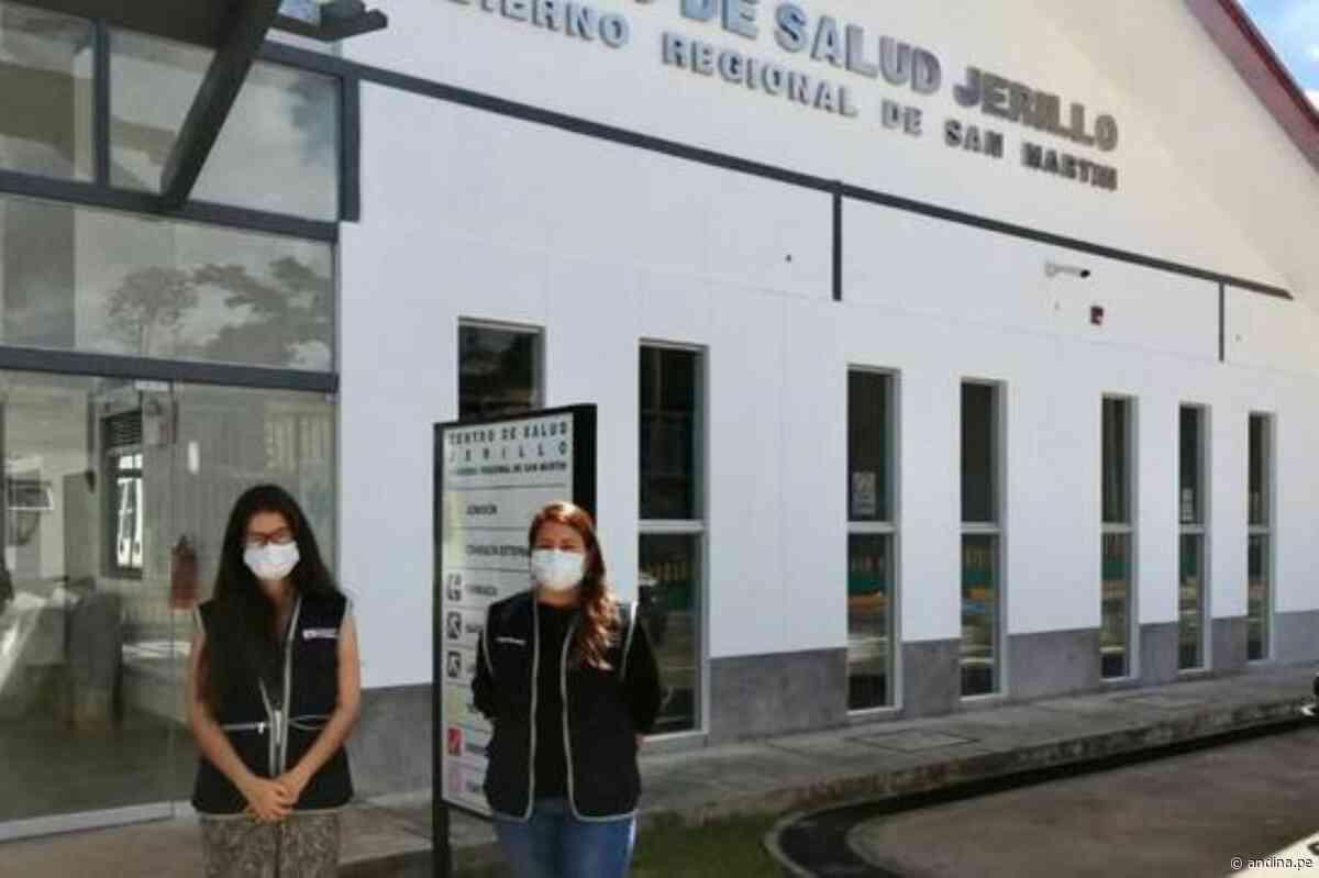 Coronavirus: San Martín optimizará su capacidad para respuesta con más especialistas - Agencia Andina