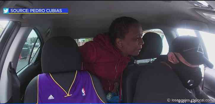Caught On Camera: Passenger Punches, Spits At Lyft Driver After Being Asked To Wear Face Covering