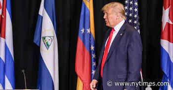 Trump, in Florida, Seeks to Quell Doubts About His Opposition to Maduro