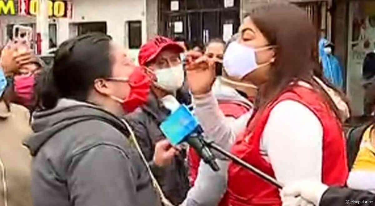 """Fiscalizadora de SMP humilla a comerciante durante intervención: """"Toda la vida vas a ser ambulante"""" - El Popular"""