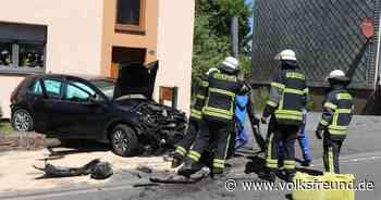 Unfall : Zwei Verletzte bei Unfall in Morbach - Trierischer Volksfreund