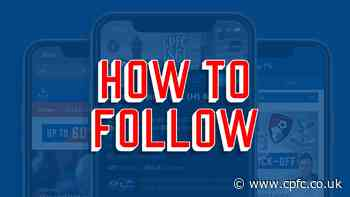 How to follow Palace's Villa game live - including TV channel details