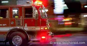 Fire destroys three mobile homes, kills dog in Wheeling