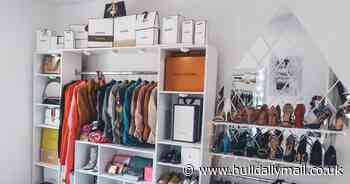 Mum explains how she turned tiny space into stunning dressing room