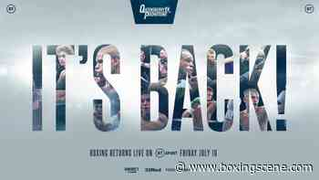 Brad Foster vs. James Beech - LIVE Results From Stratford - BoxingScene.com