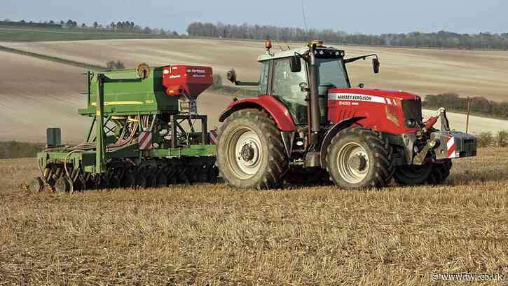How to fit a fertiliser kit to a John Deere drill
