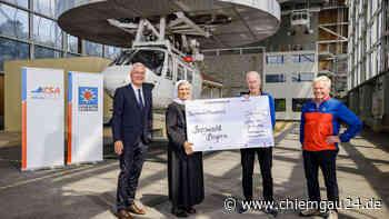 Siegsdorf: Adelholzener Alpenquellen spenden 200.000 Euro - chiemgau24.de