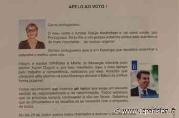 Municipales à Morangis : un mystérieux tract en portugais fait polémique - Le Parisien