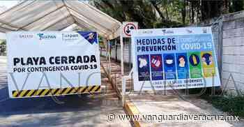 Cierran accesos a playas de Tuxpan, Veracruz - Vanguardia de Veracruz