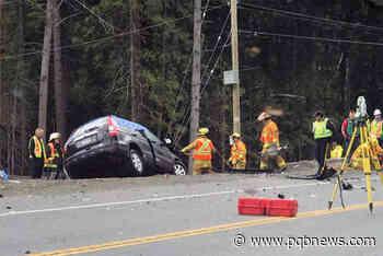 Minivan driver's speed a factor in fatal 2018 Malahat crash - Parksville Qualicum Beach News