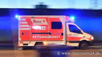 24-Jährige erleidet bei Roller-Unfall in Rosenheim schwere Verletzungen