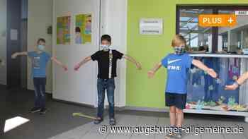 Die Maske gehört an der Grunschule Thalfingen jetzt zum Schulalltag