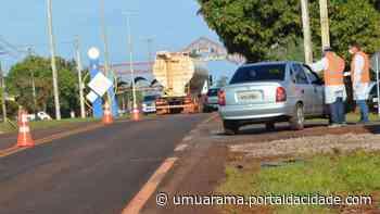 Assis Chateaubriand tem barreiras sanitárias instaladas em entradas da cidade - ® Portal da Cidade   Umuarama