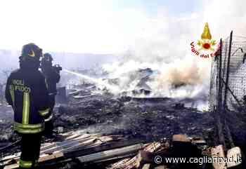 Vasto incendio a Selargius: vanno a fuoco bombole di Gpl e vegetazione - Cagliaripad